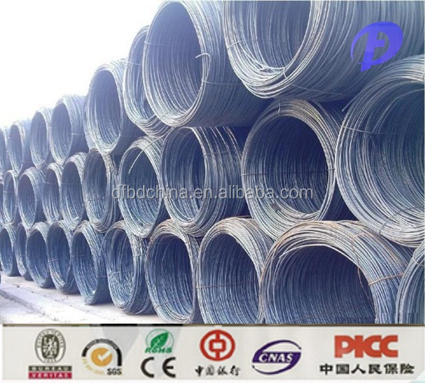 hot rolled steel rod wire sae1006 16mm