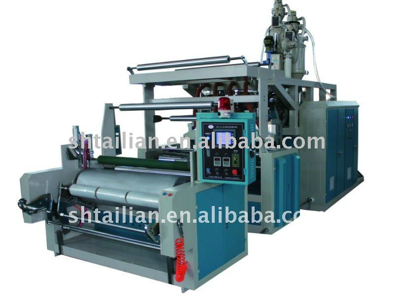 TL-1500 Single Double Three layers Co-Extrusion Film Casting Machine