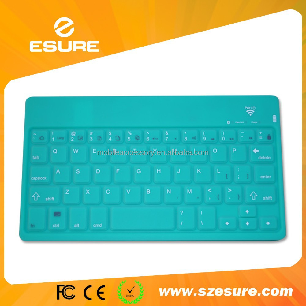 China Color Silicone Keyboard, China Color Silicone Keyboard ...