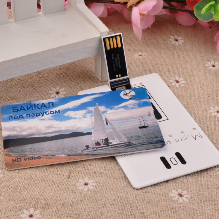 New design 8gb business card usb flash disk, ultra-thin credit card usb flash disk