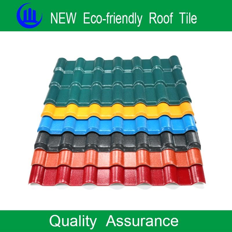 Building Materials Asa Plastic Pvc Roof