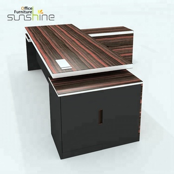Modern L Shaped Table Design Executive Manager Boss Ceo Office