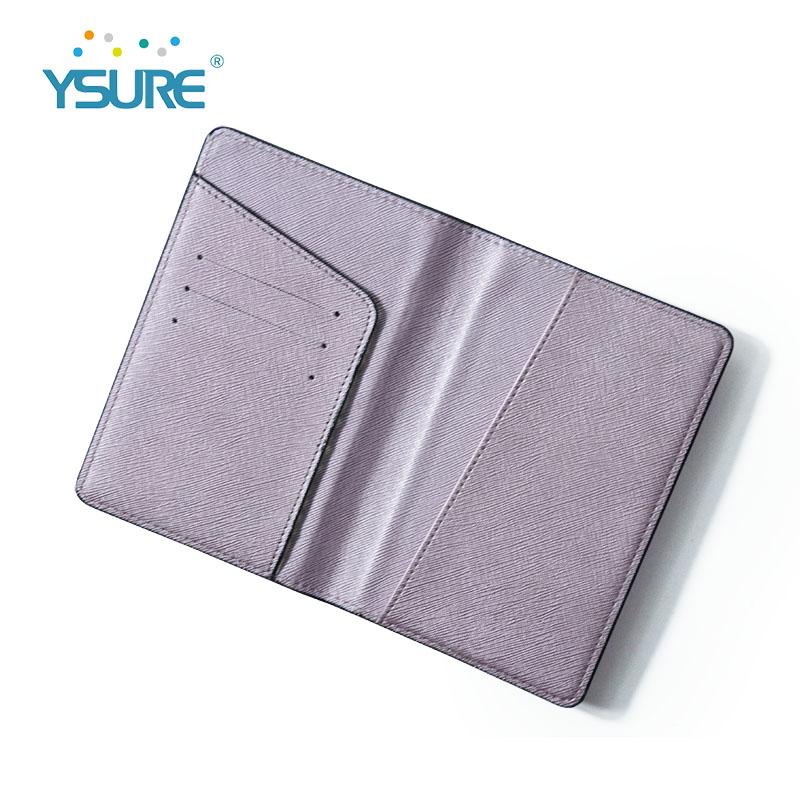 Titular de cartão de couro de crédito personalizado mini titular do cartão bonito