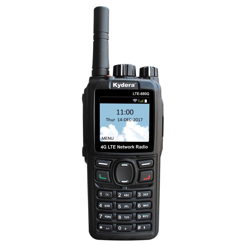 אמיתי PTT PoC4G טלפון GPS wifi משטרה טוקי למכירה ארוך טווח אלחוטי משדר waki טאקי 100km