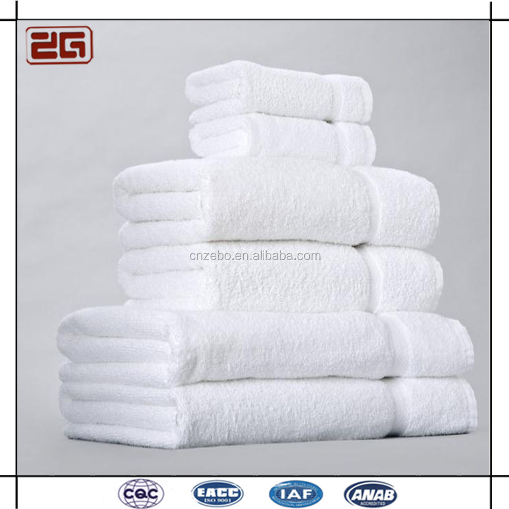 Professional Guangzhou Supplier White Cotton Hotel Bath Towel