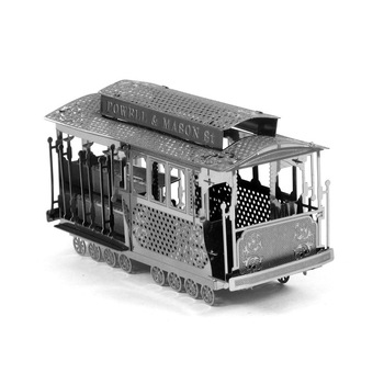 Educational Toys Perth Tram Explore 3D Metal Puzzle Magnetic 3d Jigsaw Puzzles