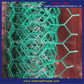 Pvc Coated Hexagonal Iron Wire Mesh/zinc Coated Hexagonal Wire ...