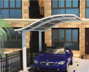 Foldable tricycle shelter for car parking
