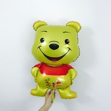 High Quailty Yellow Bear Minion Foil Balloon