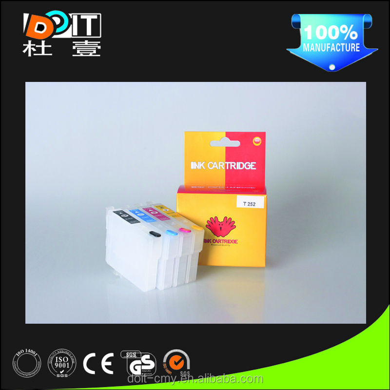 High quality refillable ink cartridge for epson wf 3640