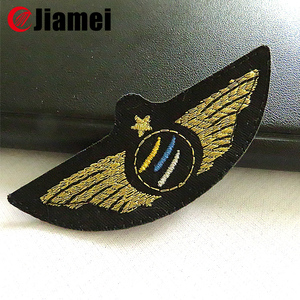 Custom uniform accessories Arm Patch embroidery scouts badges