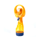 Mini Portable Desk Battery Operated Handheld Outdoor Personal Cooling Water Bottle Spray Misting Fan