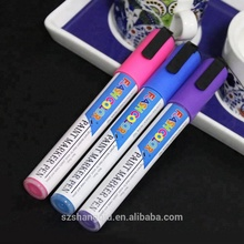 Colorful rainbow washable waterproof permanent fabric markers