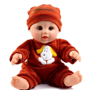 Non Toxic Vinyl 12 inch Cute Lifelike Baby Boy Reborn Doll for Kids