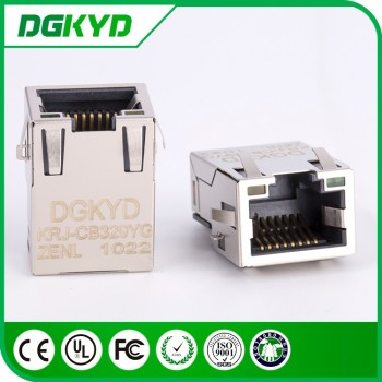 10p8c Ethernet Jack Low Profile Rj45 Connector Module,Smt,1000 Base ...