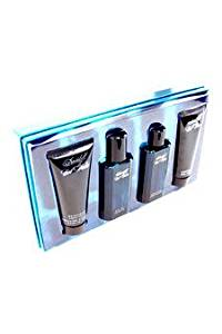 Cool Water by Zino Davidoff for Men - 4 pc Gift Set 2.5 oz EDT Spray, 2.5 oz After Shave, 3.4 oz Shower Gel, 3.4 oz Moisturizing Body Lotion.