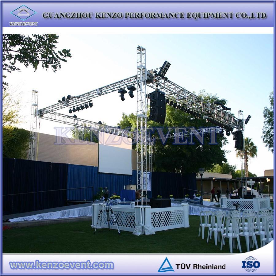 Outdoor Stage Box Truss,Aluminium Beleuchtung Fachwerk Rahmen - Buy ...