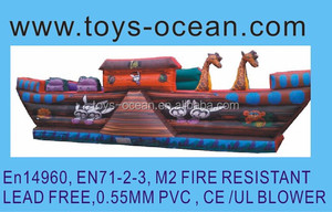inflatable boat bouncer /inflatable bouncers for toddlers/indoor inflatable bouncers for kids