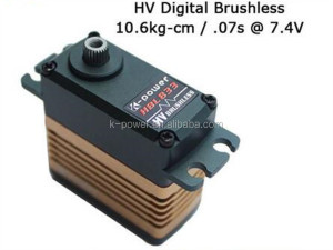 China manufacturer metal gear servo/360 degree rotation brushless servo/servo