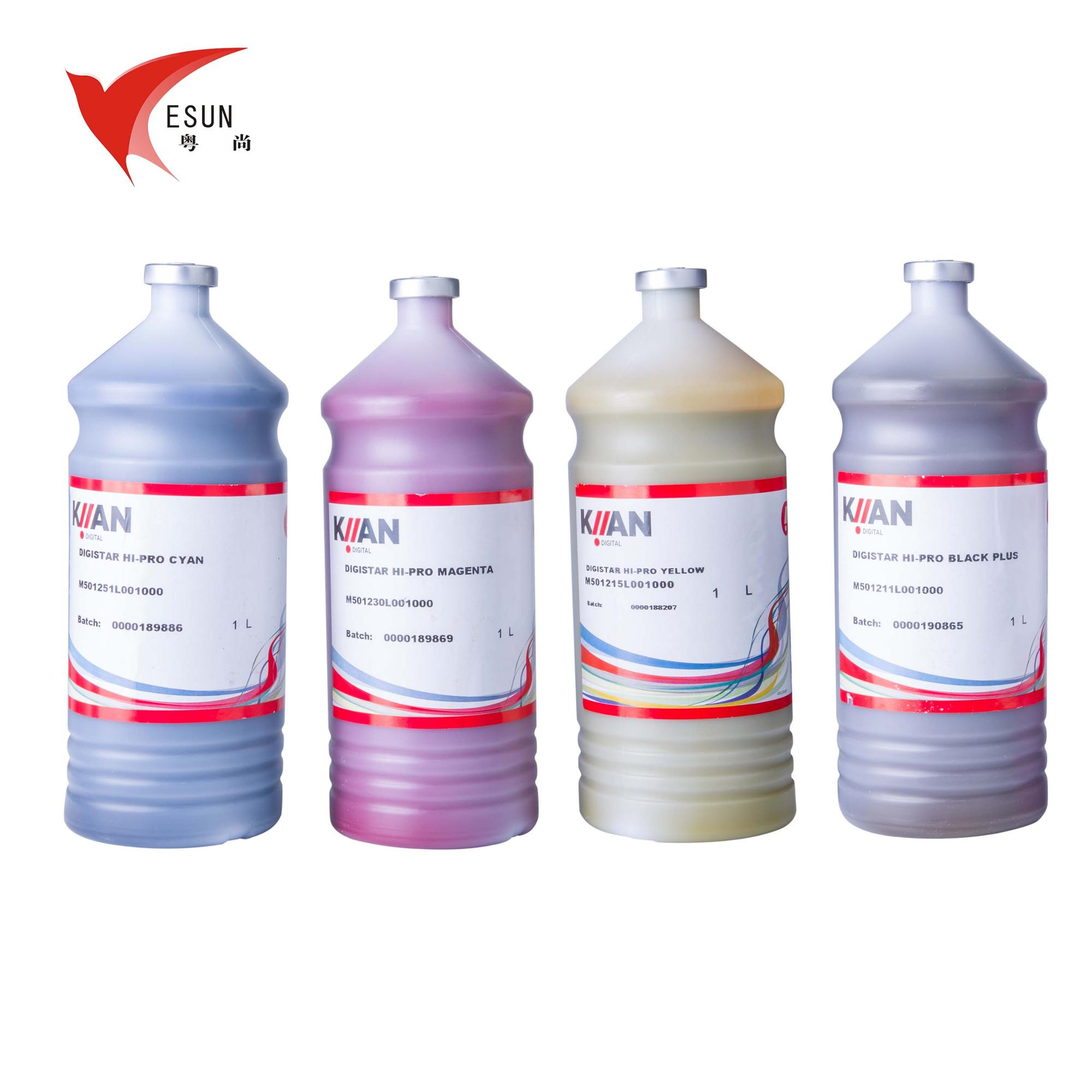 Italy KIIAN Hi-pro Ink Heat Transfer Sublimation Ink For Sublimation Printing