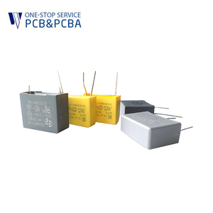 Electronic Components A004 Safety Split Ac 2200uf Aluminum Electrolytic Capacitor For PCB Assembly