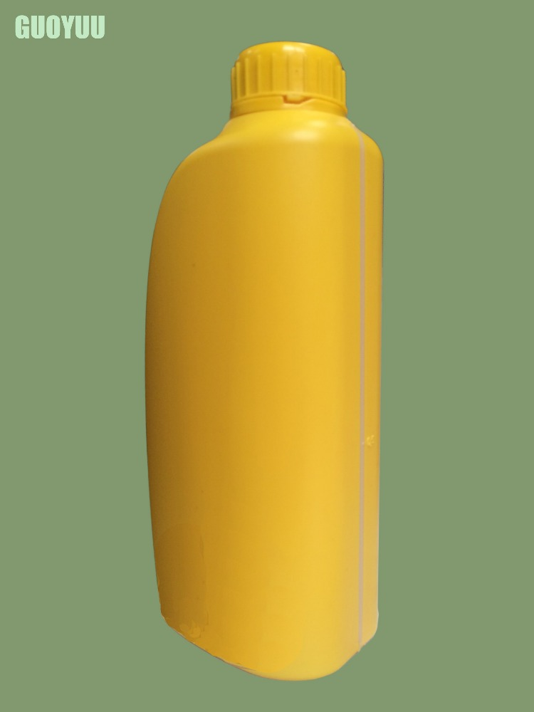 Printed Plastic Bottles/Oil Container with Screw Top Cap/ Chemical Containers Manufacturers