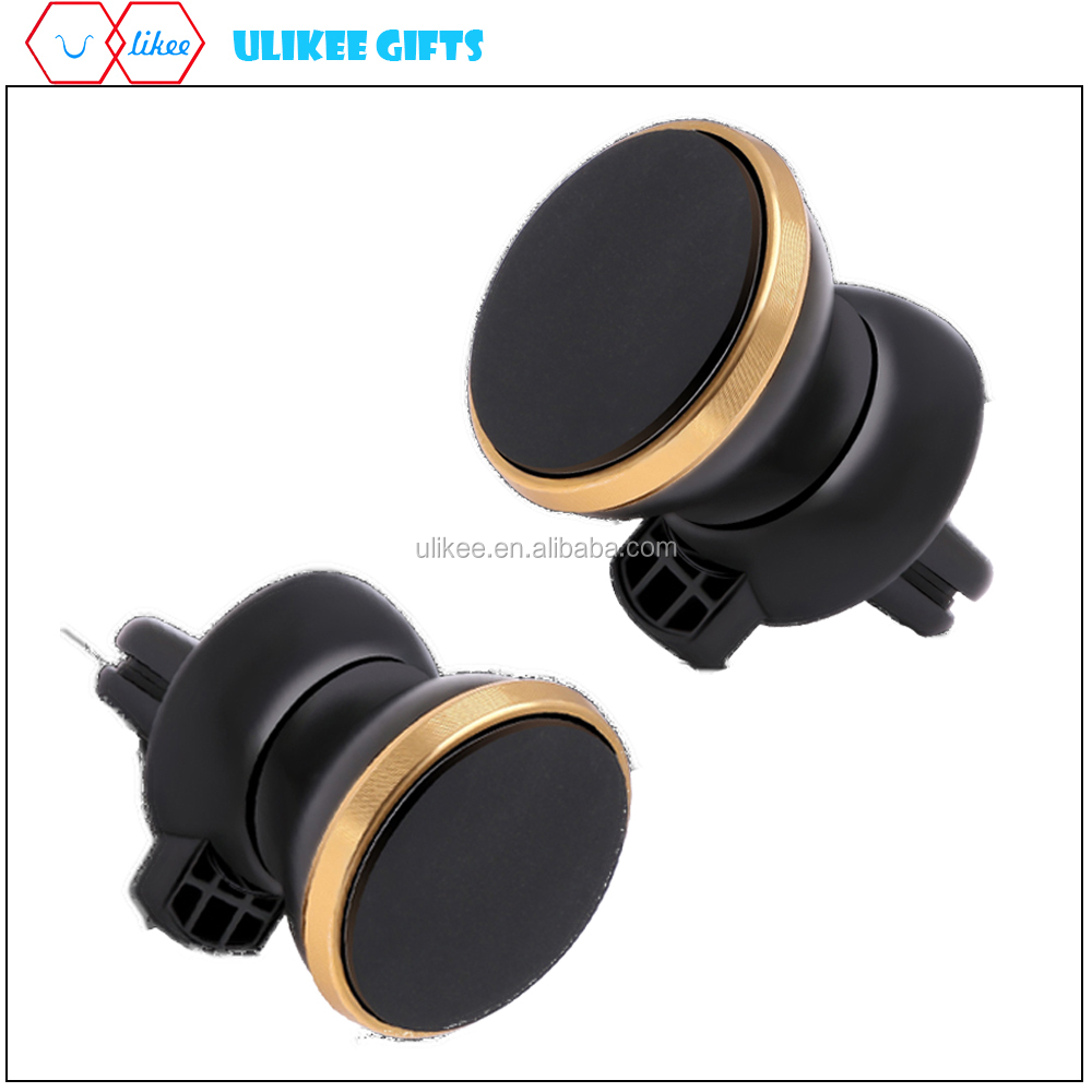 Nice Wholesale Air Vent phone Mount Magnetic Car mobile Phone Holder with custom logo