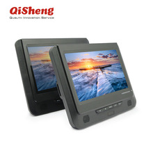 Hot sell for europe market! 9 inch dual LCD screen portable DVD player