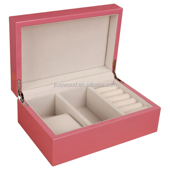 Custom wooden jewelry packaging box