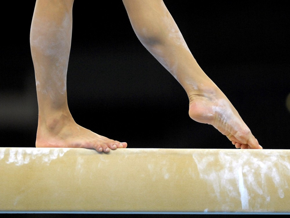 Taishan Brand Gymnastic Standard Balance Beam Gym Beam