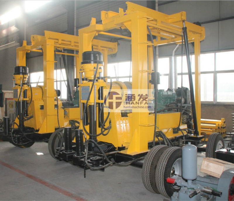 Best-selling in 2012! HF-3 Core Drilling Machine for Mineral Exploration