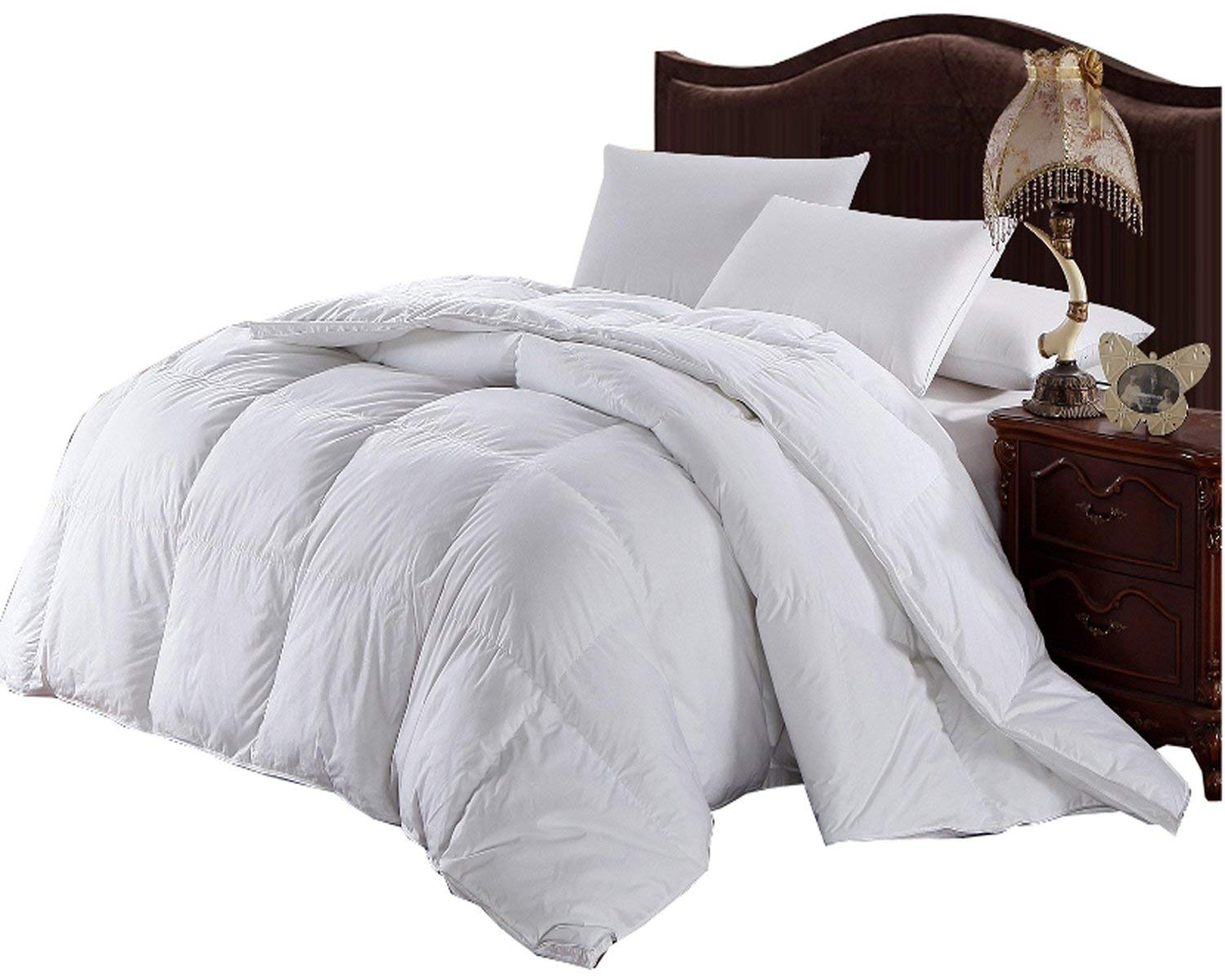 Get Quotations Royal Tradition Over Size King Baffle Box Hungarian White Down Alternative Comforter 110 Wide X