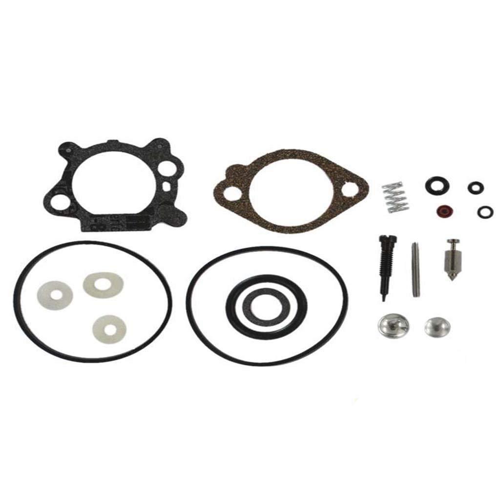 HURI Carburetor Gaskets Repair Rebuild Kit for Briggs & Stratton 492495 493762 498260 498261 490937 398183