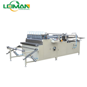 32-1100mm adjustable width PLCZ55-1050-II Filter pleating machine Pleating paper machine Air filter making machine