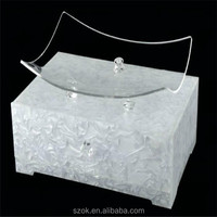 Simple design good quality acrylic hotel supplies for retailer