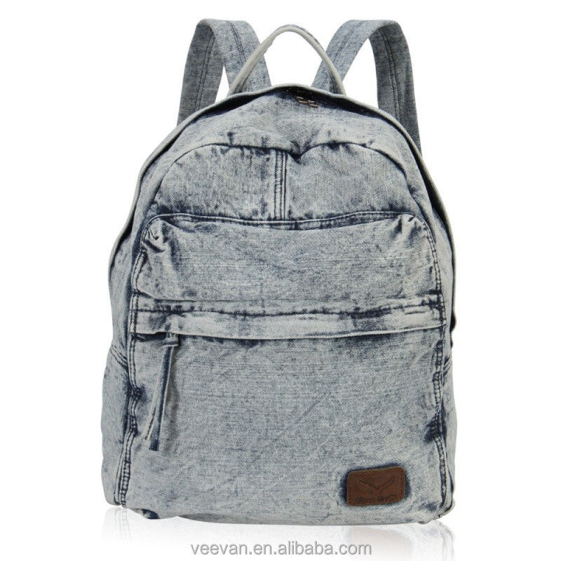 Free shipping 3pcs denim bakcpack and 12pcs emoji school bag