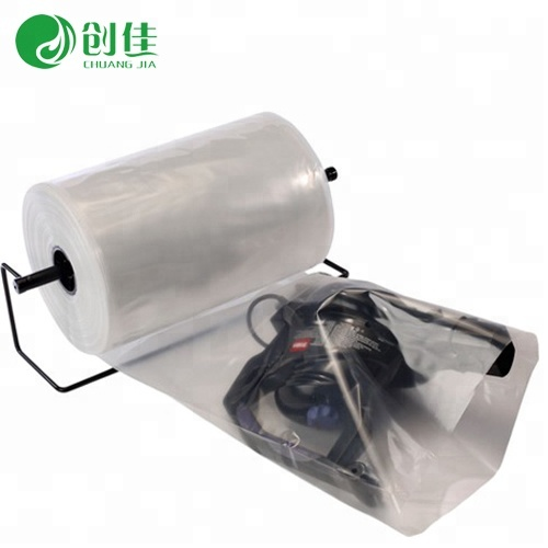 7 layer co-extruded oxygen barrier flexible food vacuum packaging pa/pe lay flat tube film sleeve <strong>roll</strong>