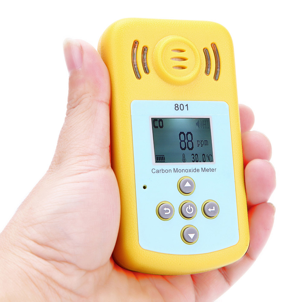 Mini Carbon Monoxide Gas Meter Portable Co Detector Lcd Display ...