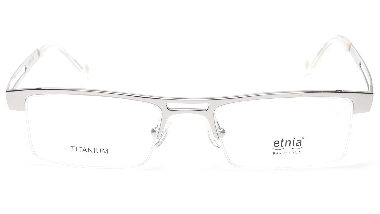 94cc9c2a91f NEW Etnia Barcelona QUEBEC-SL SILVER EYEGLASSES GLASSES 50-18-140 B27mm  SPAIN