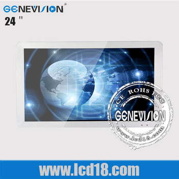 24 Inch Acrylic Panel Board Advertising Tft Lcd Display Support ...