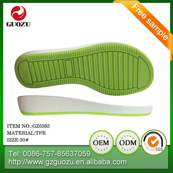 supplier wear-resisting slipper for kis colorful tpr outsole