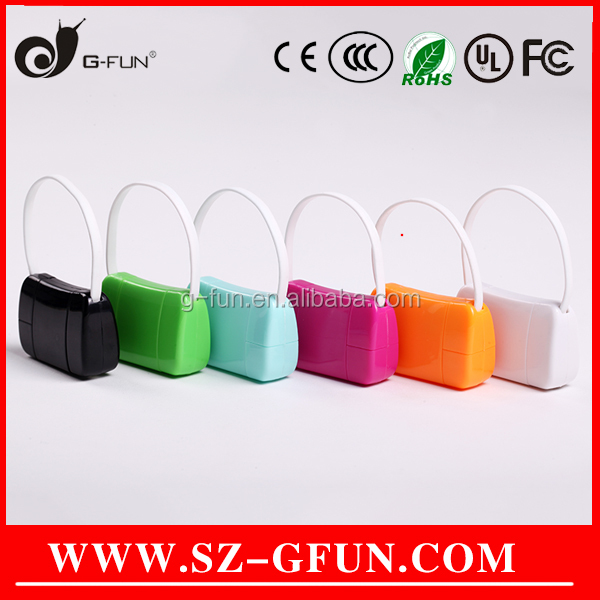 Best Promotion Gift Factory OEM Logo Handbag Shape Android/i5/i6/6s Mobile Phone Uses Charger Data Sync USB Cable