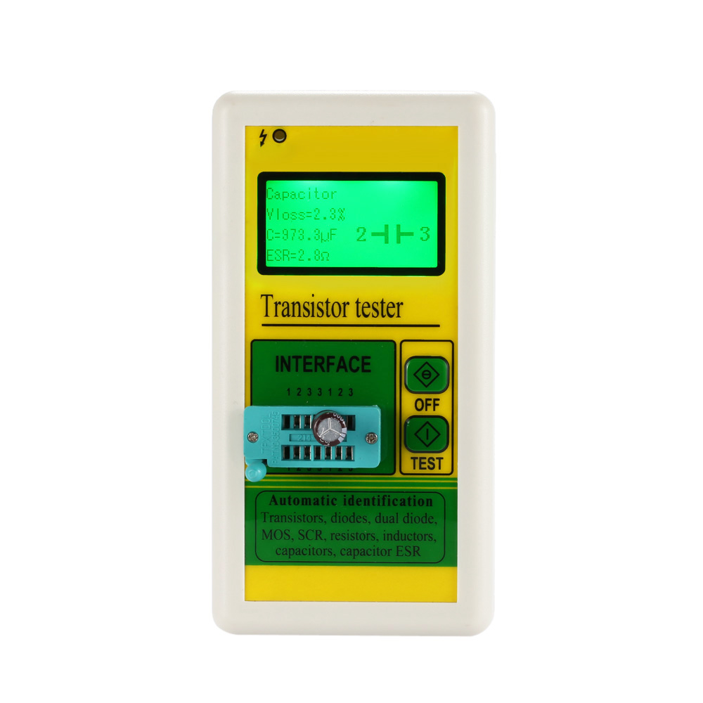 Multi Functional Digital Lcd Transistor Tester Diode Thyristor For Repair Resistor Capacitance Meter Esr Lcr Megger Insulation Buy High Qualitychina