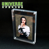 UNIVERSE Best quality beautiful clear acrylic photo frame cube