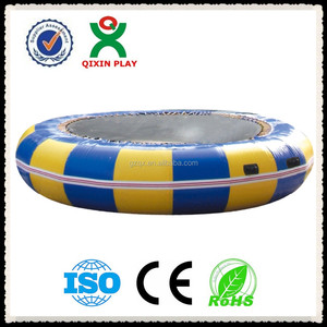 Newly Design Aquatic Inflatable Water parks, Inflatable Waterpark, water trampolines QX-083C