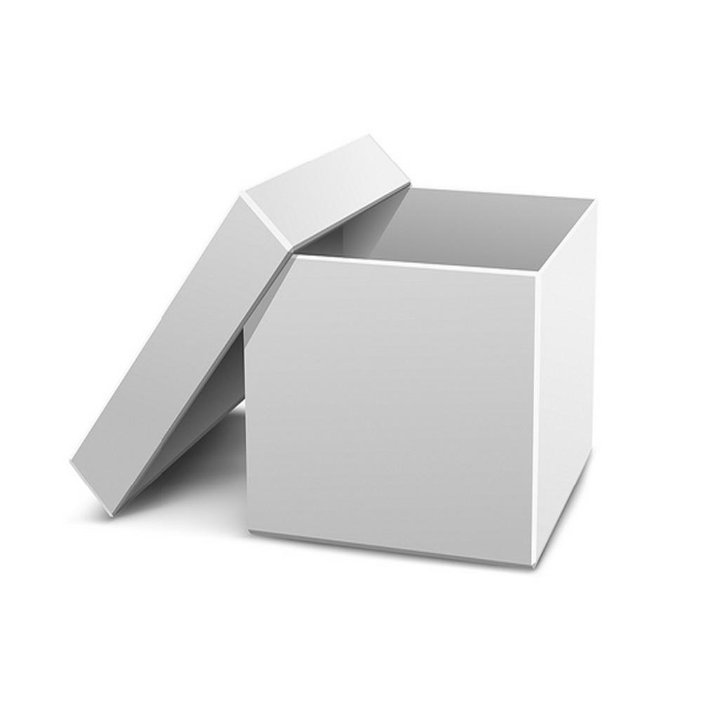 печать белый ящик картинка снять