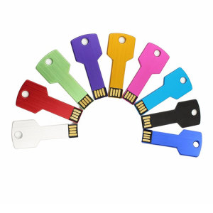 Custom metal usb key memory stick corporate gifts drive colorful flash