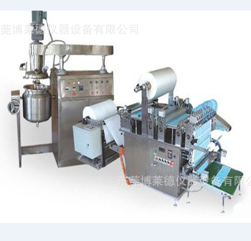 Automaticlly Medical Capsicum Plaster Coating Machine