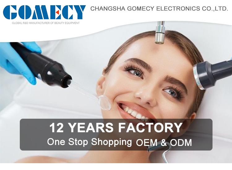 GOMECY prevenir acne teimoso, diminuir poros dilatados, reduzir a aparência de linhas finas e rugas dispositivo de alta freqüência
