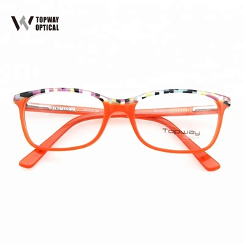 New Arrival Acetate Frame Eyewear Fashion Square Clear Lens Pink ...